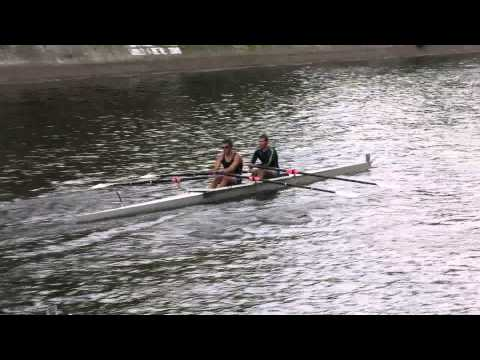 Logan Bagneres & Daniel Fraser Maraun u19 2x @ Head of The Lake 2014