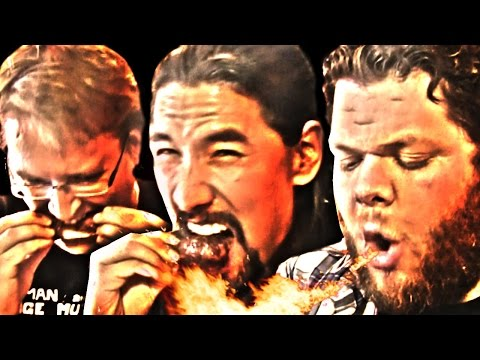 Blackenstein Suicide Chicken Wing Eating Contest at Wingmaster