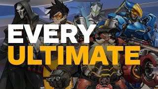 Overwatch: All 21 Ultimate Abilties