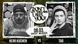 Herr Kuchen vs Tao // DLTLLY RapBattle (Wiesbaden) // 2019