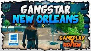 Gangstar New Orleans  pc gameplay in windows 10