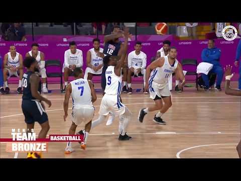 USA Men's Basketball Team Wins Bronze In Lima | Pan American Games Lima 2019