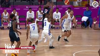 USA Men's Basketball Team Wins Bronze In Lima | Pan American Games Lima 2019