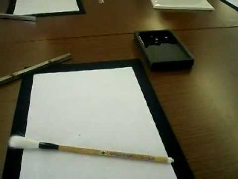 Tinta Kaligrafi Jepang (shodo, Japanese calligraphy) Travel Video
