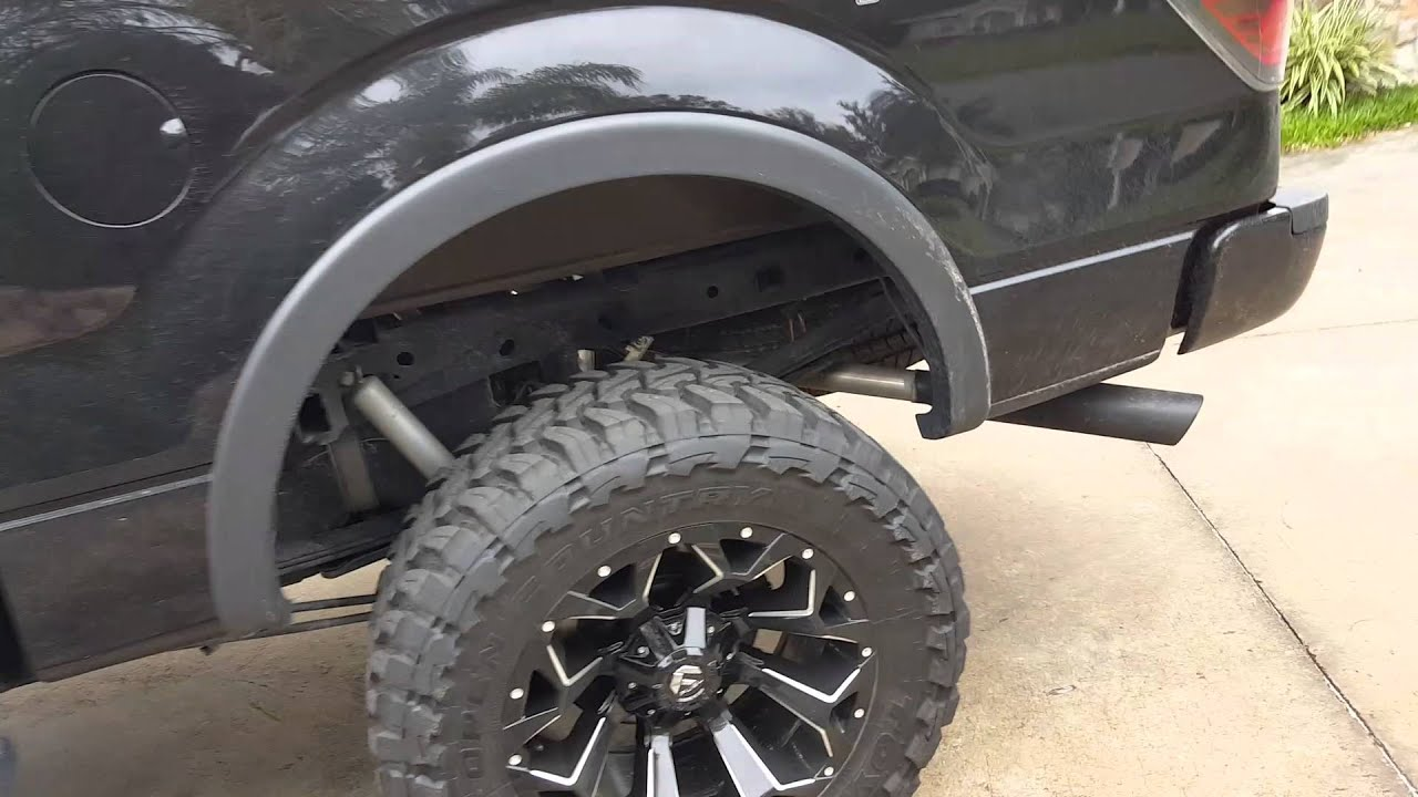 2013 F150 With 6 Inch Lift And 35 Inch Tires Youtube
