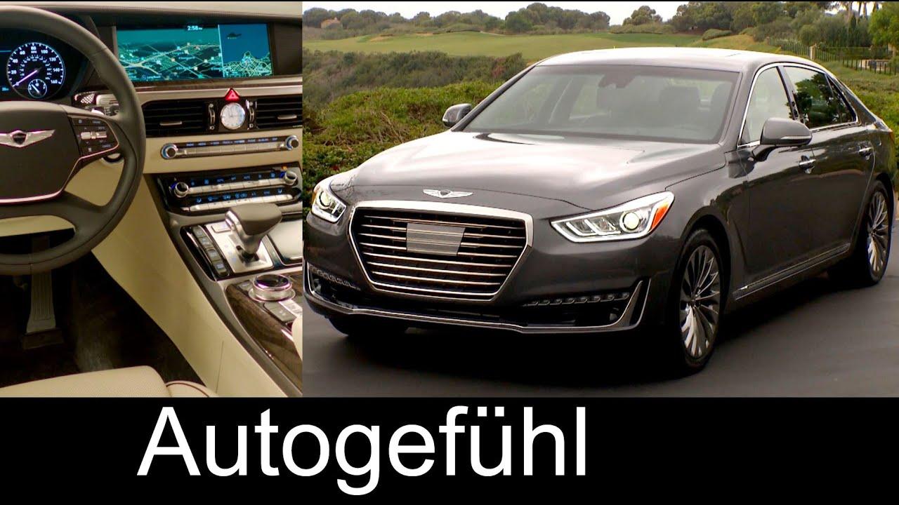 Genesis G90 Exterior Interior Presentation: Hyundai ...