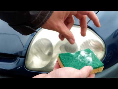 How To Clean Dull Car Headlights Nearly Free