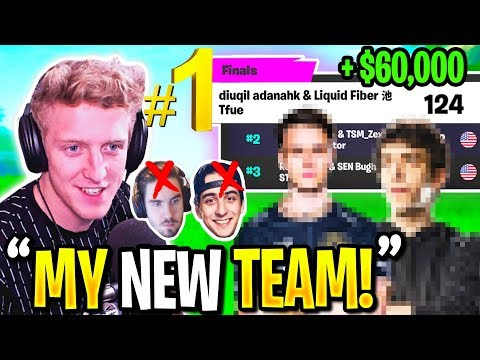 Meet TFUES *NEW* TRIO! They WON 1st PLACE in Fortnite CHAMPION Series!