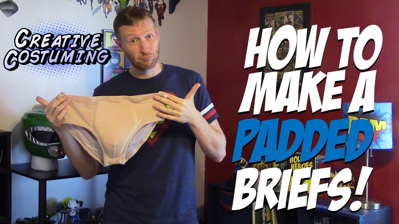 How to Make Padded Underwear - by Creative Costuming - YouTube