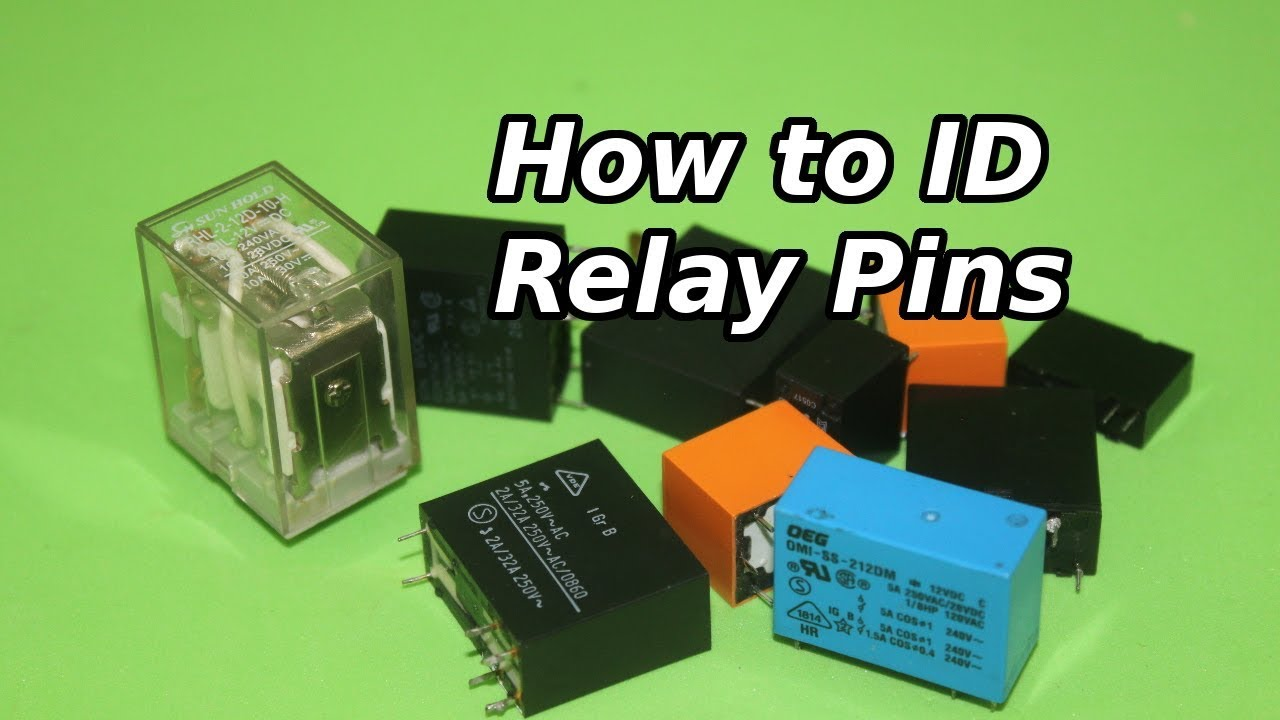How To Identify The Pins Of A Relay Youtube