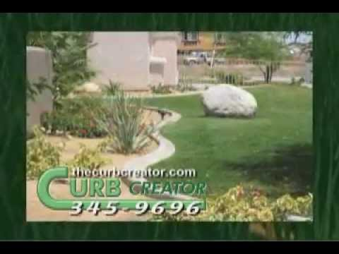 The Curb Creator - Installers of Concrete Landscape Borders and Artificial Grass