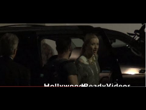 Exclusive: Iggy Azalea arrives at Kiis FM radio sation in Burbank