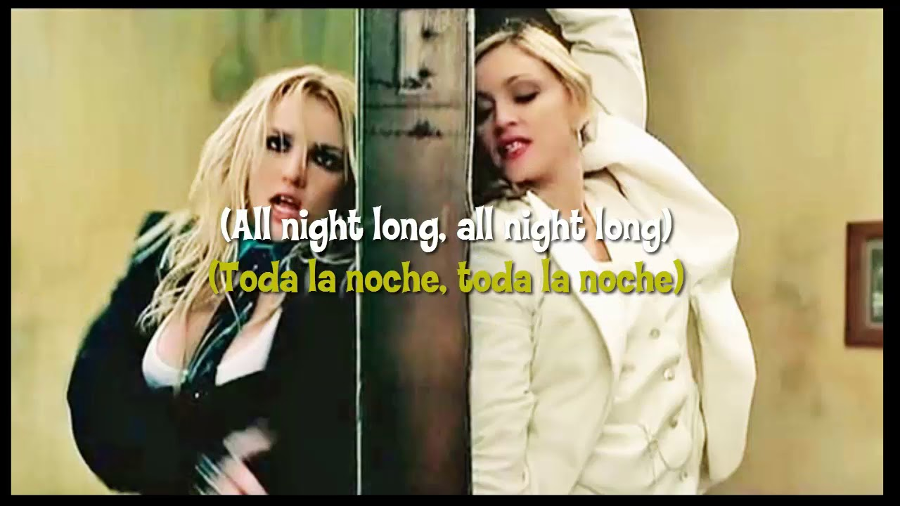 Britney Spears - Me Against the Music - feat. Madonna (Sub ...