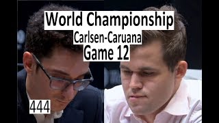 Carlsen-Caruana ¦ Game 12 ¦ 'They can't handle the pressure!'