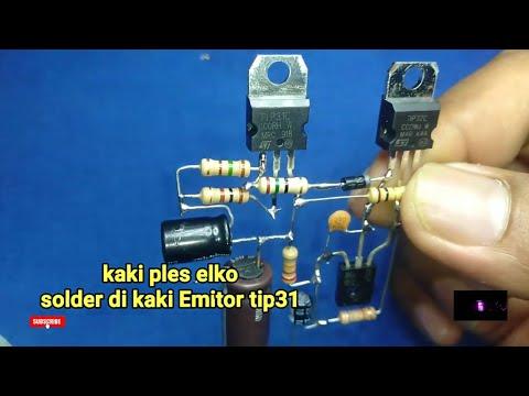Amplifier Tip31 & Tip32