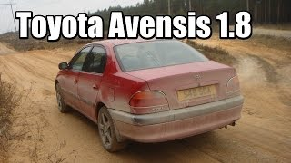 1998 Toyota Avensis 1.8 Offroad and crazy driving