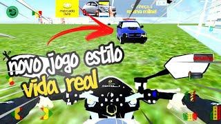 Novo jogo estilo vida real para android com : carro , moto e modo de fuga   (EM FUGA BRASIL)