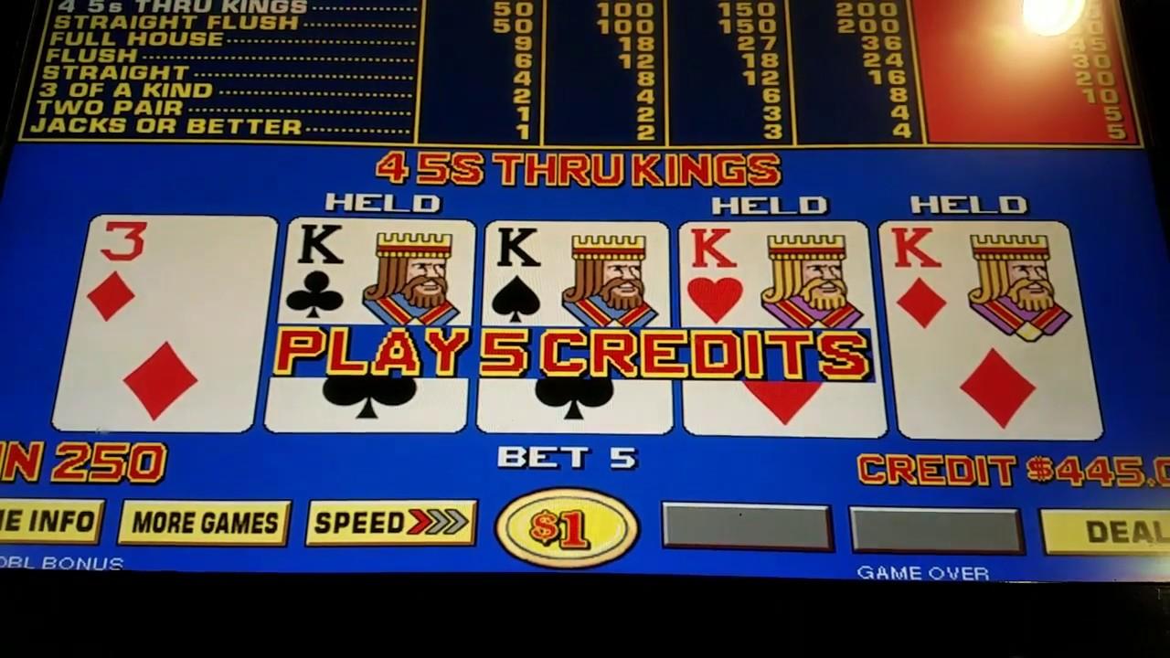 9 6 Triple Double Bonus Video Poker
