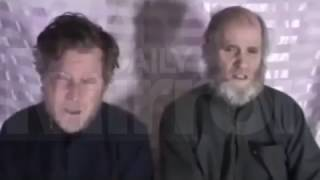 RAW Afghan Taliban releases video of USA Australian hostages January 11 2017 News