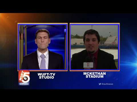WUFT News at Six - Sports Live Shot 3/28/14