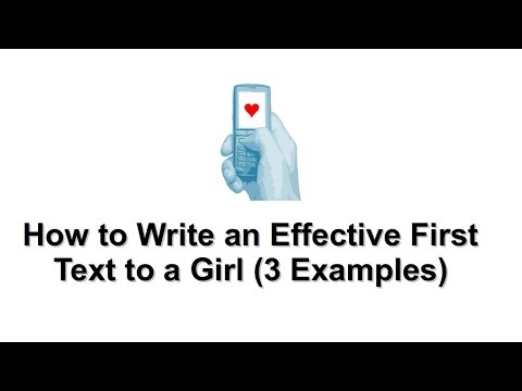 Should girls text first
