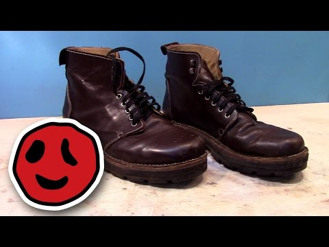 Make your own shoes - YouTube