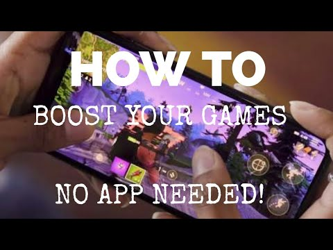 How To Boost Android Games | Reduce FPS Drops! | No App Needed √|