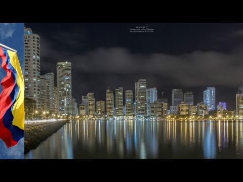 EL skyline de La Ciudad  De Cartagena de Indias Colombia 2017