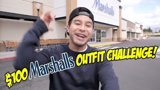 THE $100 MARSHALLS OUTFIT CHALLENGE! DID WE FIND YEEZYS?