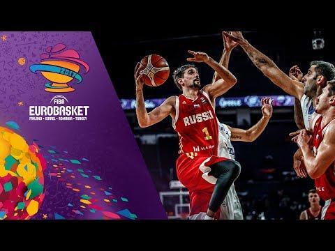 Ευρωμπάσκετ 2017: Δείτε τα Highlights του αγώνα Ελλάδα-Ρωσία 69-74 της προημιτελικής φάσης