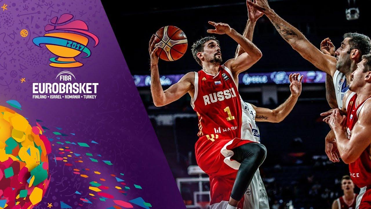 Greece v Russia - Highlights - Quarter-Final - FIBA EuroBasket 2017