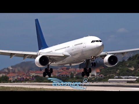 Amzing Close-up Airbus A330 Landing - SPU/LDSP Split Croatia