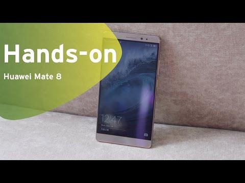 Huawei Mate 8 Hands-on (Dutch)
