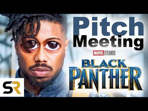 Black Panther Pitch Meeting