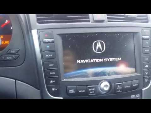 2007 Acura Tl Type S Navigation >> Video clip hay Acura TL navigation unit removal ...