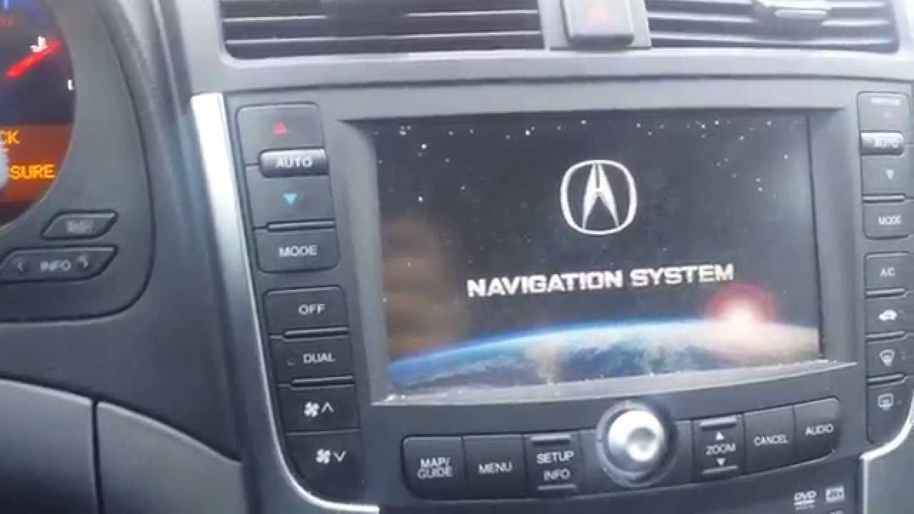 ACURA TL NAVIGATION PROBLEM & EASY FIX!!! - YouTube