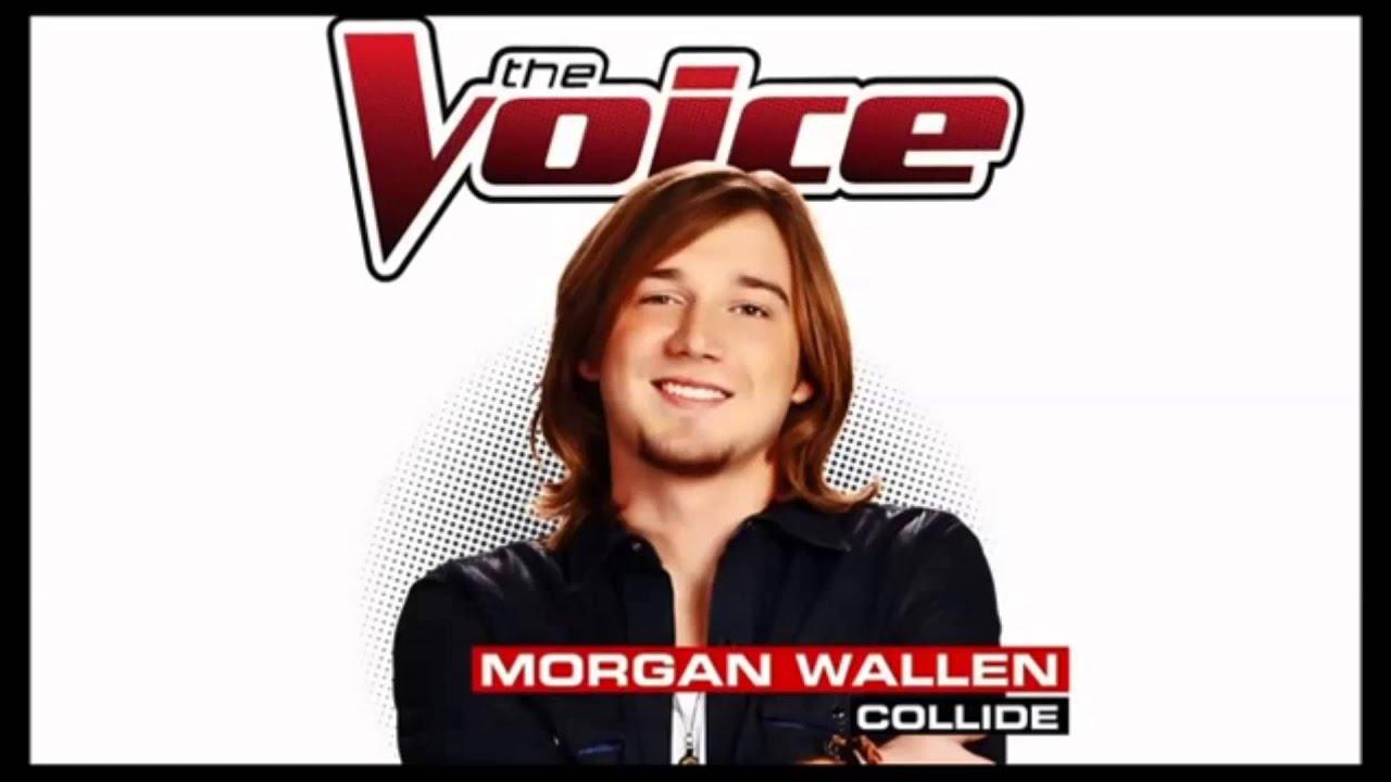Morgan Wallen Collide Studio Version The Voice 2014 Youtube