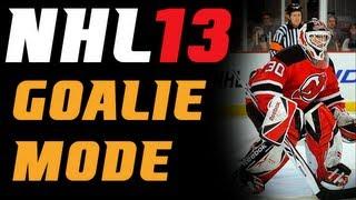 "NHL 13 Demo: Goalie ""First Game"""