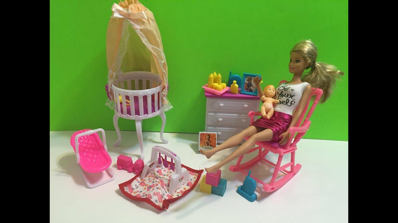Barbie Baby Nursery Set