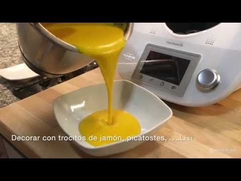 receta thermomix crema calabaza