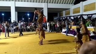 dhamal dance of sidi peoples at junagadh janmashtami fair opening 01