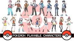 All Pokemon Playable Characters
