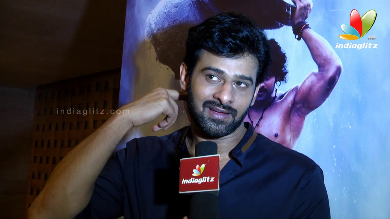 Image result for prabhas interview