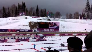 Биатлон, Паралимпийские зимние игры 2014 в Сочи