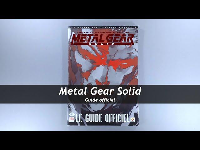 Metal Gear Solid - Guide officiel