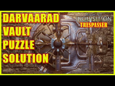 Dragon Age: Inquisition - Darvaarad Courtyard Vault Puzzle - Trespasser DLC - 4K Ultra HD