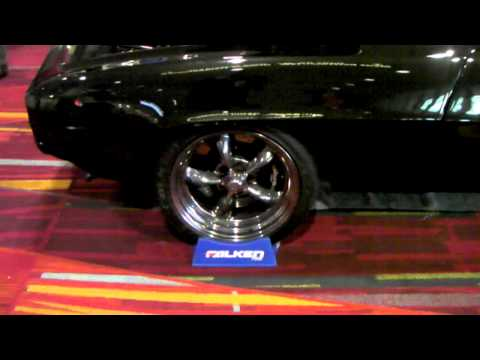 60 Chevy Camaro On 18'' American Racing Wheels