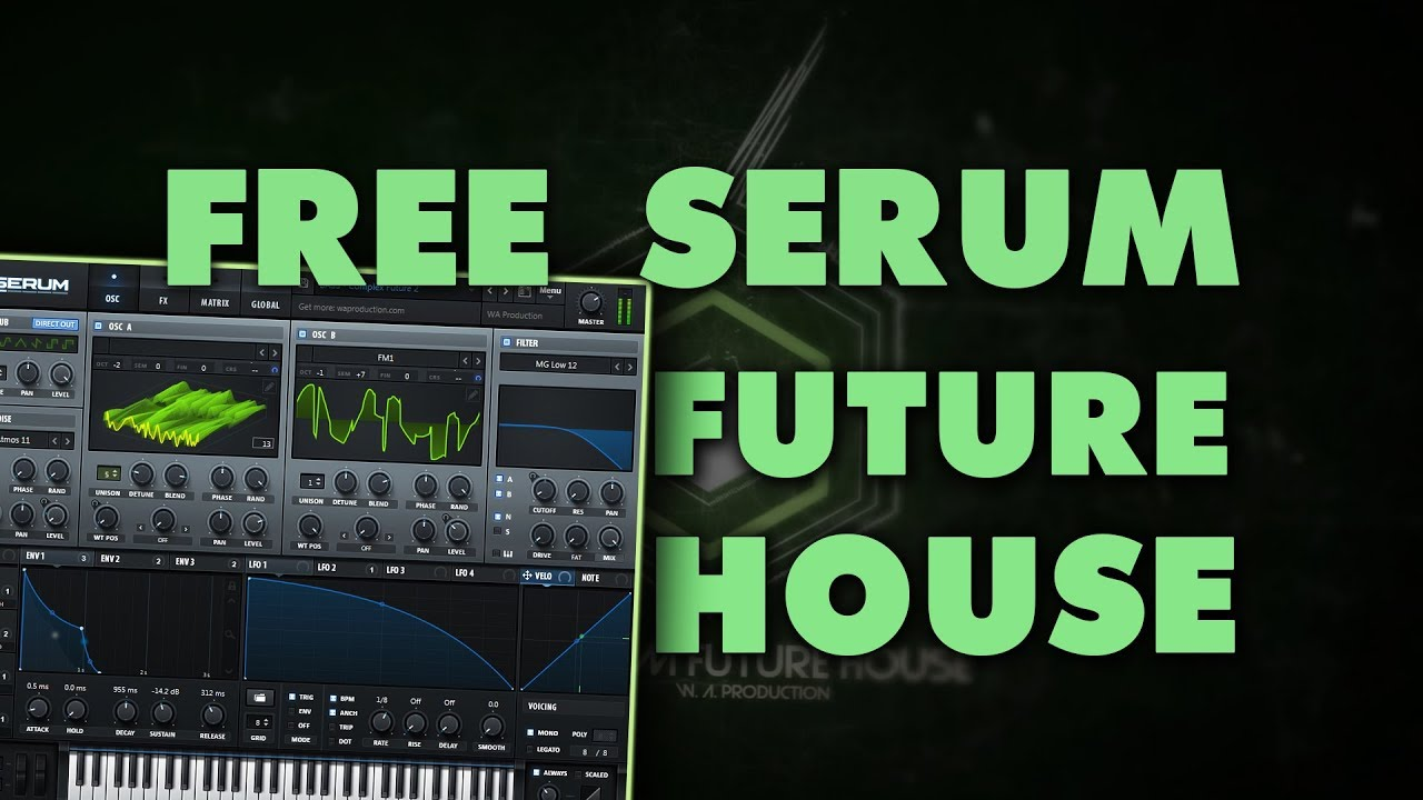 FREE Serum Future House | 36 Xfer Serum PResets