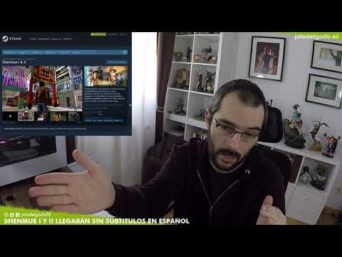 SHENMUE 1 Y 2 NO VENDRÁN TRADUCIDO EN ESPAÑOL 😠 (luego se quejarán de que no venden)