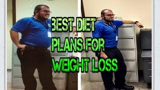 5 BEST Diet Plans For Weight Loss